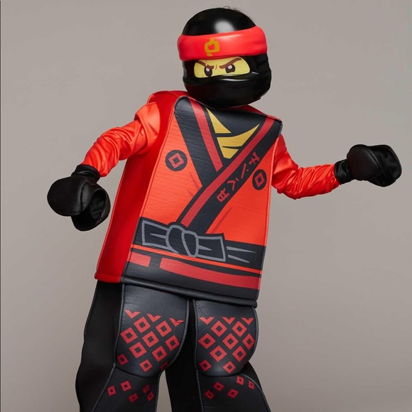 Ninjago Halloween Costume.Costumes Lego Ninjago Kai Halloween Costume Poshmark